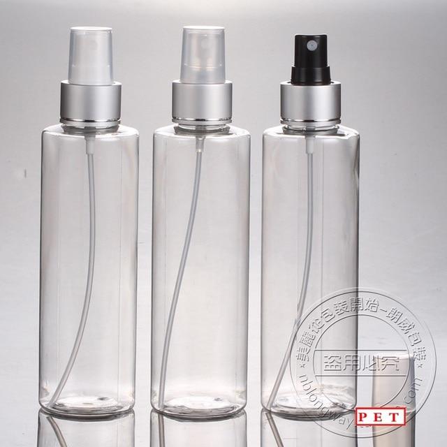 50pcs Wholesale empty 200ml PET plastic clear perfume ...