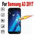 Для Samsung Galaxy A3 2017 Закаленное стекло-Экран Протектор Крышка для Samsung Galaxy A 3 2017 A320 A3200 A320F Фильм случае