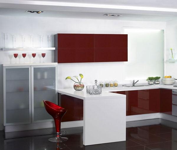 popular kitchen cabinets red buy cheap kitchen cabinets dark red kitchen cabinets quicua com