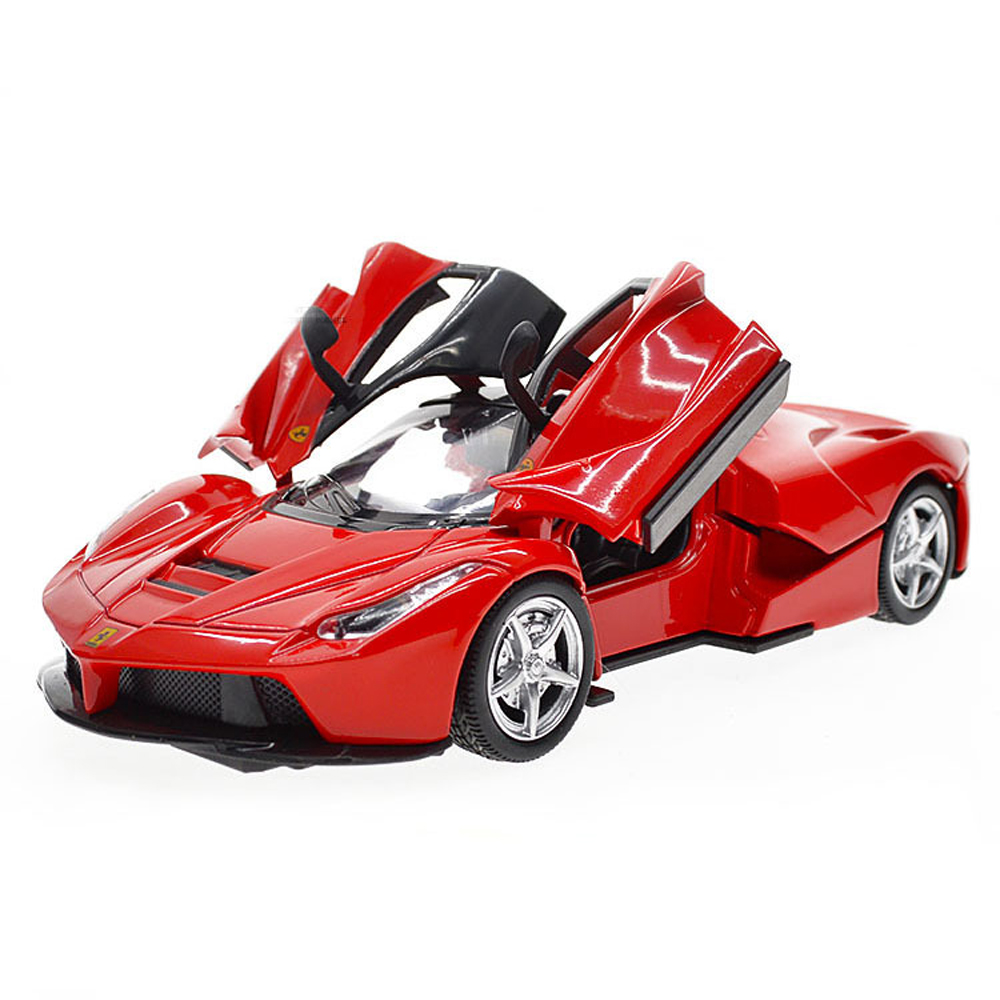 1pcs Scale 1:32 RC Alloy Car Model Diecast Sound Light Pull Back Door Toys For Children Hot Weels Xmas Gift Pagane Toy Car Wheel