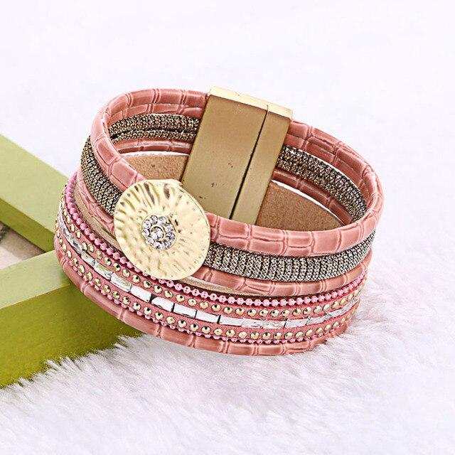 Boho Leather Bracelets...
