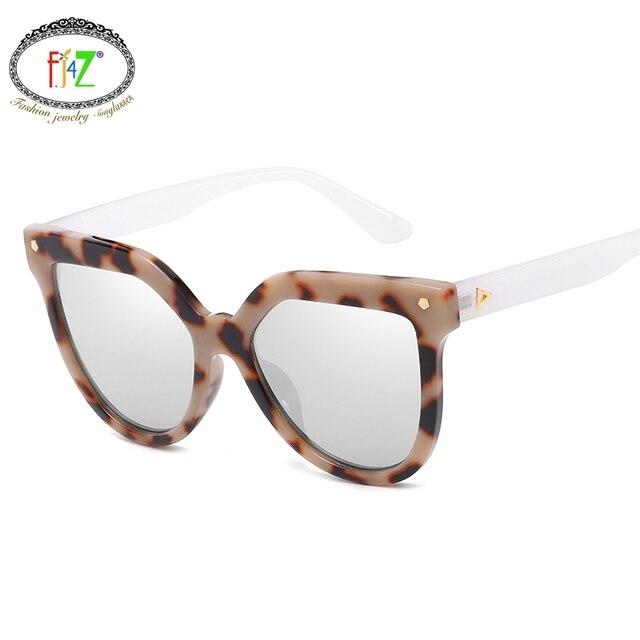 b76378a097 F.J4Z New Hot Unisex Classic Brand Designer Cool High Quality Fancy Color  Film Sunglasses