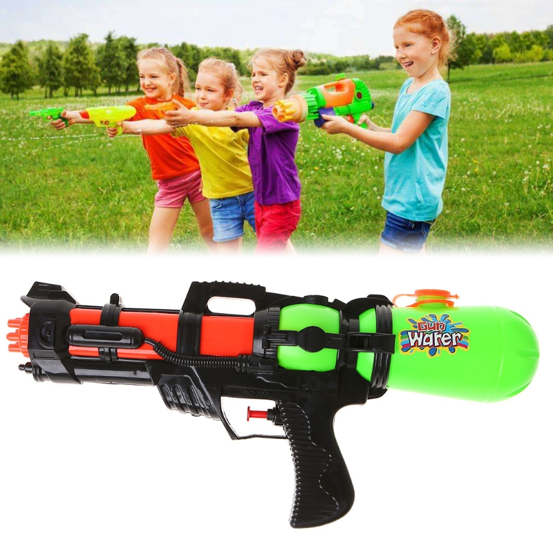 Soaker Sprayer Pump Action Squirt Water Gun Outdoor Beach Garden Toys