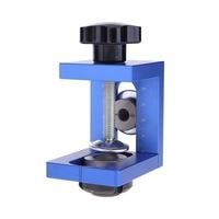 Mini Kreg Style Pocket Hole Jig Kit Wood Working Screwdriver Step Drill Bit Joinery Punching