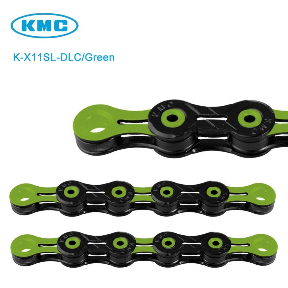 KMC X11SL DLC ASSORTD COLORS 11 Speed Road CX Bike Chain fits SRAM Shimano Campy