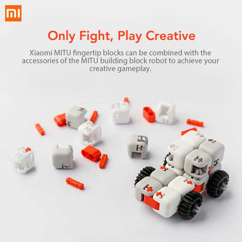 Original Xiaomi Mitu Spinner Finger Bricks juguetes de inteligencia juguetes de dedo portátiles para Xiaomi regalo de hogar para niños
