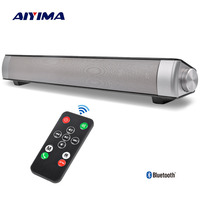 AIYIMA Portable Wireless Altavoz Bluetooth Soundbar Speaker TV Sound Bar USB Column For PC Speakers Home Theater Sound System