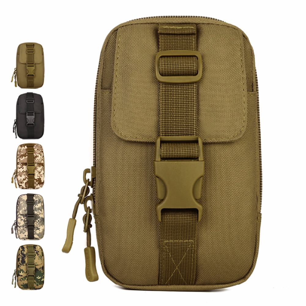 Children's Shoes Girls Punctual 1000d Durable Nylon Military Waist Pack Men Travel Molle Tool Small Bag Male Hip Belt Cell/mobile Phone Case Hook Fanny Bags