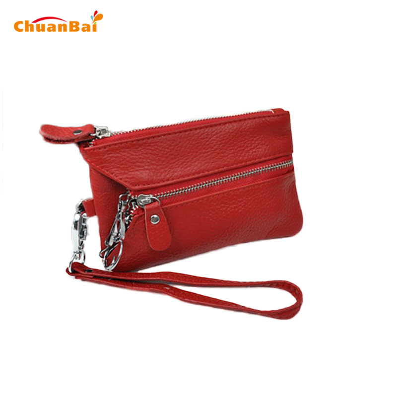 Women Wallet Black Slim Coin Purses Key Wallets Day Clutches Womens And Wristlet Bags CB297