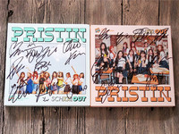 Signed PRISTIN Autographed Mini2nd Album SCHXXL OUT CD Photobook Signed Poster K POP 092017