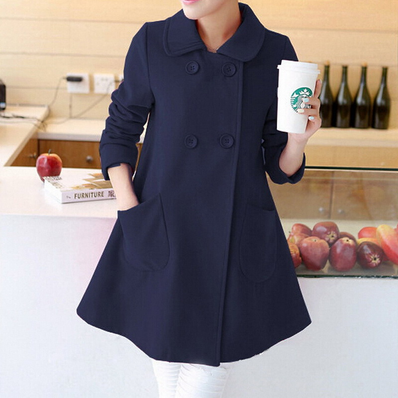 Aliexpress.com : Buy Hot selling!2015 new fashion Korean stylish coat women  long sleeve turn down collar wool women's coats unique design from Reliable  ... - Aliexpress.com : Buy Hot Selling!2015 New Fashion Korean Stylish