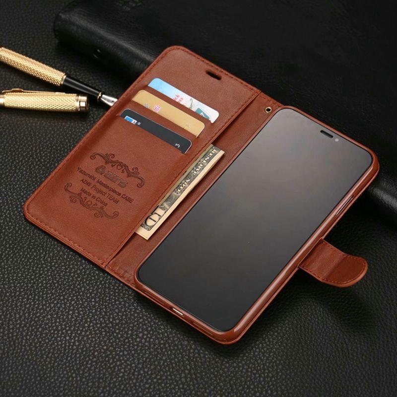 Luxe Lederen Flip Case Voor Coque Iphone 12 Mini 11 Pro X Xr Xs Max 6 6S 7 P 8 Plus 5 S Se 2020 Beschermende Telefoon Shell Cover 1