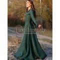 Vintage taditional medieval europa central party dress mujeres adultas cosplay por encargo d1029