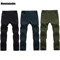 Mountainskin Men's Summer Quick Dry Breathable Thin Hiking Pants Outdoor Climbing Trekking Camping Clothing Male Trousers RW155