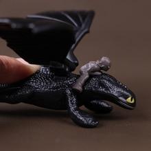 Беззубик Как приручить дракона ночной ярости смертоносный наддер дракон фигурки маленький подарок на день рождения