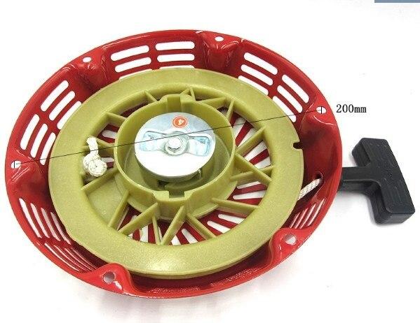REWIND PULL START STARTER RECOIL FOR LIFAN LF182F LF188F LF190F ENGINE GENERATOR GX390 188F