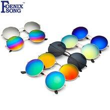 FOENIXSONG Homens Da Forma de Condução Óculos De Sol para Mulheres Marca New Designer Óculos Redondos Moldura Sol Óculos Oculos gafas de sol 4066(China (Mainland))