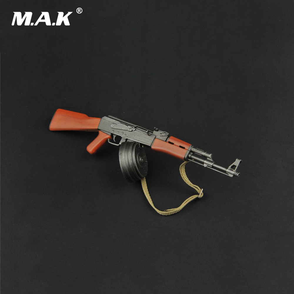 ZY2007 1/6 Plastic Gun Model AK47 Weapon Toy with Knife for 12 Action Figure Accessories bestlead chinese peony pattern zirconia ceramics 4 6 knife chopping knife peeler holder