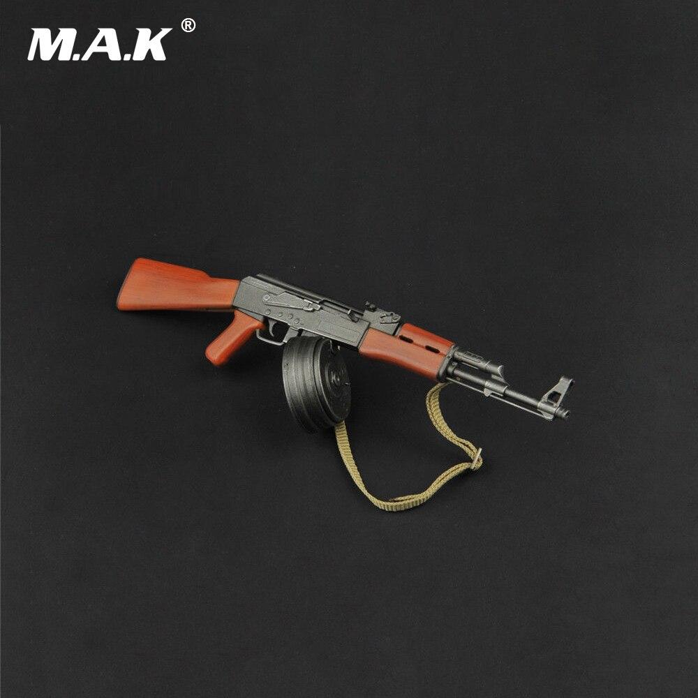 ZY2007 1/6พลาสติกรุ่นปืนAK47อาวุธของเล่นที่มีมีดสำหรับ12