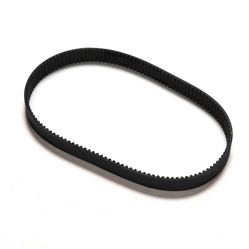 1pc Replacement 384mm Length Drive Belt HTD 384-3M-12 Escooter Electric Scooter Black Color