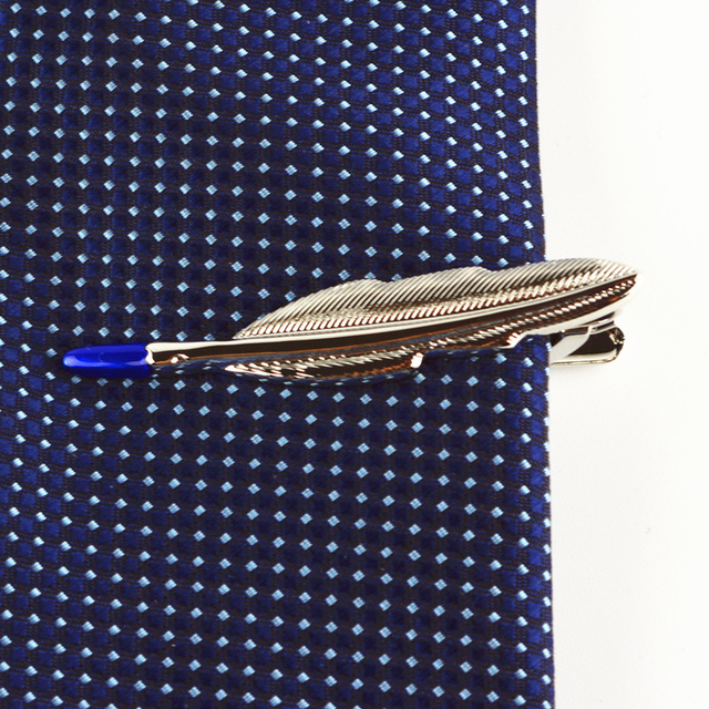 Silver Tie Clip 13 Style Anchor Bullet Arrow Leaf Copper Mens Jewelry High-quality Promotion