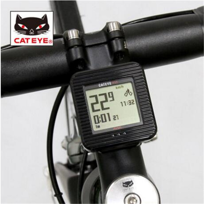 CATEYE CC-PD100W wireless pedometer bike accessories equipment bicycle computer cateye cc pa100w english wireless bicycle computer mountain bike waterproof equipment accessories