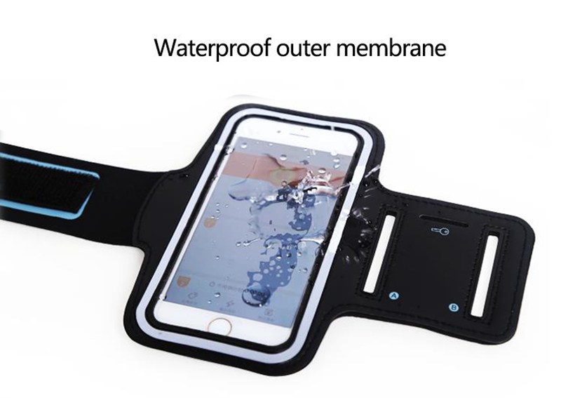 Armband for Size 4'' 4.5'' 4.7'' 5'' 5.5'' 6'' Sport Running Arm Belt Case for iPhone Huawei Samsung Xiaomi Phone Holder On Hand