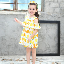 abe02f8f33 Buy yellow little girl dress and get free shipping on AliExpress.com