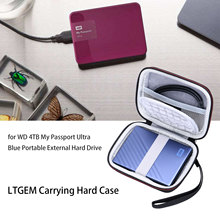 LTGEM EVA Hard Case für WD 1TB 2TB 4TB My Passport Ultra Tragbare Externe Festplatte(China)