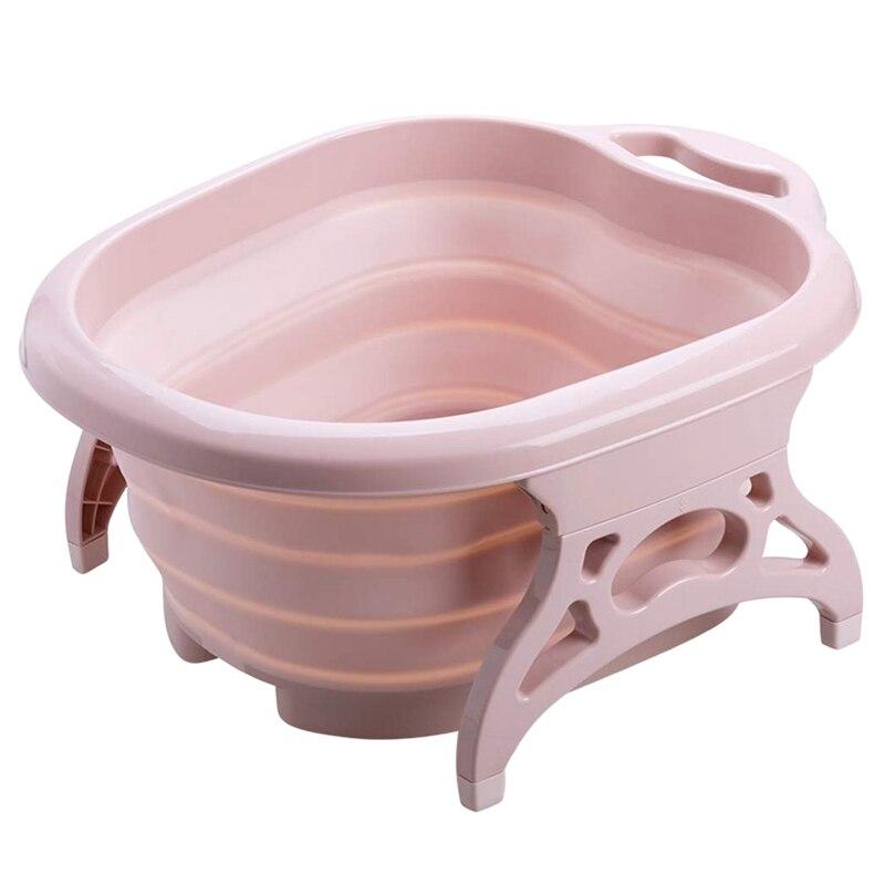 Foot Bath Massage Bucket Collapsible Plain Foam Barrel Foot Tub Large Barrel Decompression Today specials Foot Bath Massage