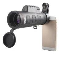 2X Phổ Mini 35x50 HD Đôi điều chỉnh Nhìn Đêm Kính Thiên Văn Ống Kính Xi Lanh Đơn Xem Đối Với Samsung Galaxy s8 điện thoại Máy Ảnh