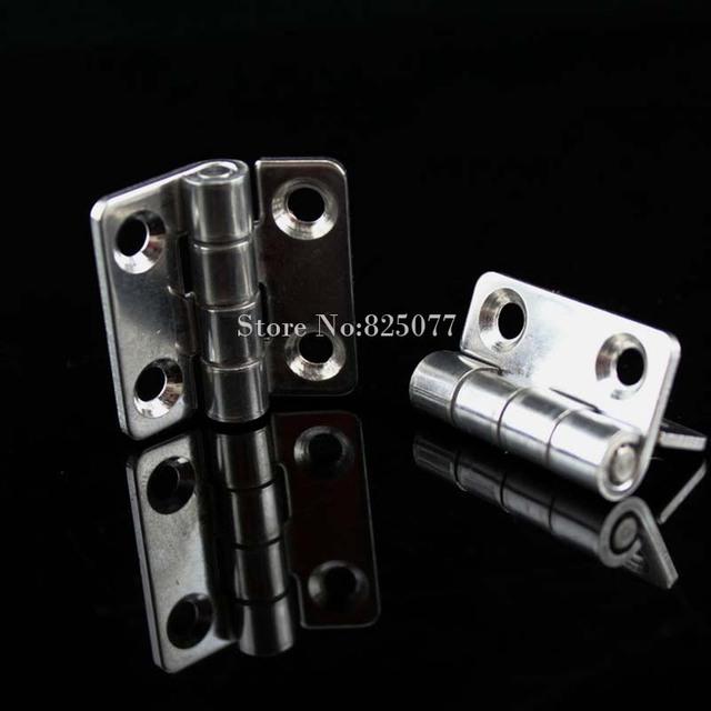 Envío libre 304 de acero inoxidable 1.5 pulgadas espesor 2 mm Industrial maquinaria y equipo 35 * 37 * 2 mm bisagra HM177