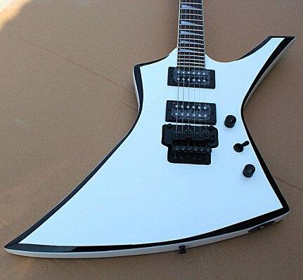 Jackson KE2 Kelly electric guitar Jackson custom shop RR guitar white Jackson Kelly KE 2 with