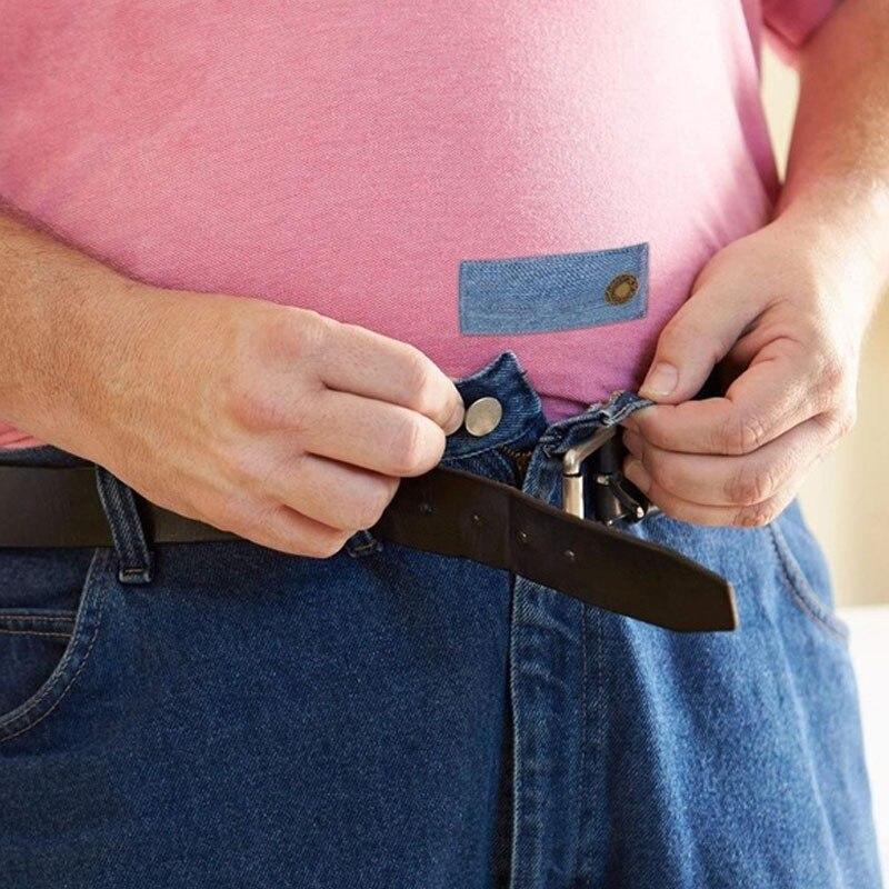 Buttons Extender Durable Button Extender Waist Extender Comfortable Jeans Pants Buckle Elastic Extension Strap Pants