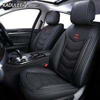 KADULEE Leather car seat cover for mazda 3 bk bl Axela 323 6 gg gh gj cx 5 cx 7 626 cx3 cx 4 Automobiles Seat Covers
