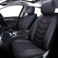 KADULEE Leather car seat cover for mazda 3 bk bl Axela 323 6 gg gh gj cx 5 cx 7 626 cx3 cx 4 Automobiles Seat Covers