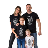 Matching Family T Shirts Need More Coffee Need More Beer Need More Milk Father Mother And
