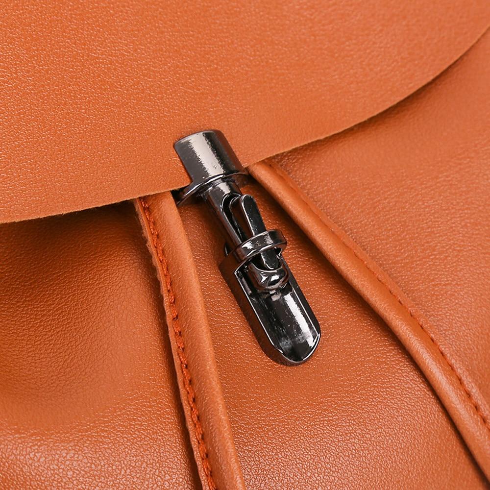 HTB1h HcXQxz61VjSZFtq6yDSVXaY - Casual Large Capacity Shoulder Bags Vintage Pure Color Leather School Bag Backpack Satchel Women Trave Shoulder Bag