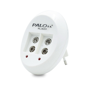 Image 5 - Chargeur de batterie PALO 9V pour batterie Lithium ion Ni MH ni cd 9V 6F22 prise ue chargeur USB 9V