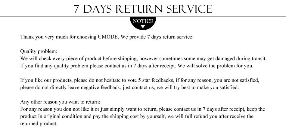 6-return guarantee