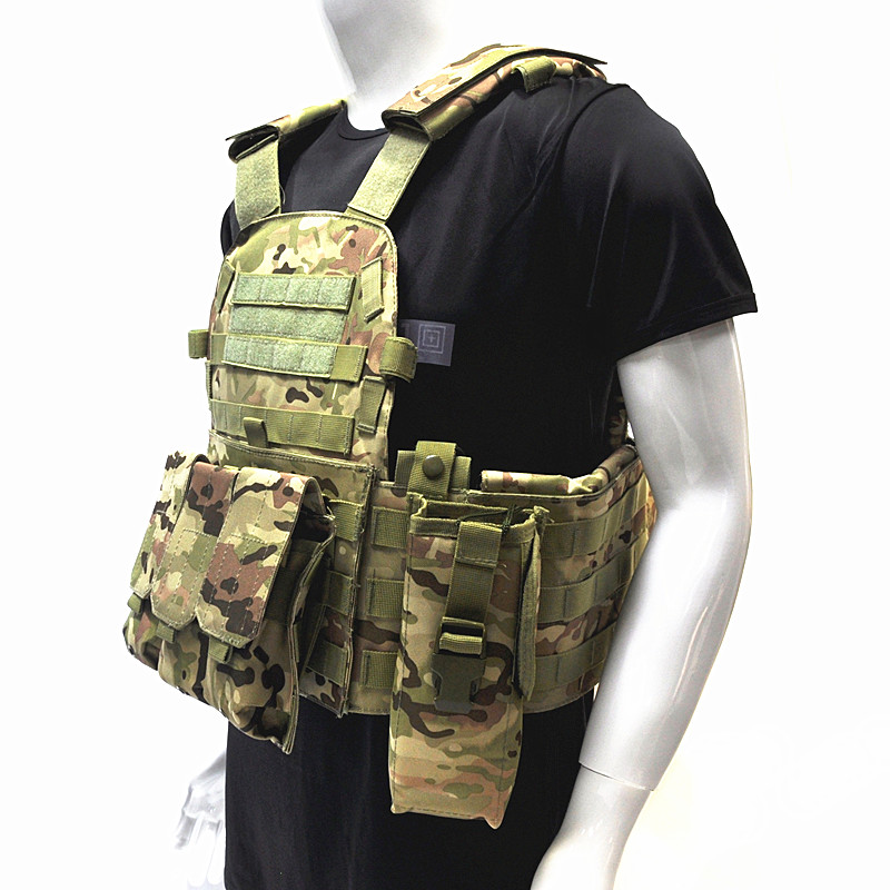 Tactical Vest Hunting Military Wargame Body Molle Armor Outdoor Airsoft Molle Combat Assault Carrier Vest Jungle Equipment tactical military vest combat hunting vest outdoor molle armor airsoft assault shooting camouflage vest with gun holster