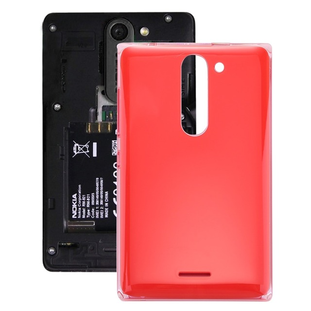 buy online 0815b 5f9ab US $3.73 10% OFF| Dual SIM Battery Back Cover for Nokia Asha 502-in Mobile  Phone Housings from Cellphones & Telecommunications on Aliexpress.com | ...