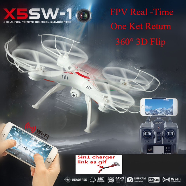 Actualizado X5SW-1 RC Drone 2.4G 6 Ejes FPV Cámara HD En Tiempo Real de mjx RC Helicóptero Quadcopter Juguetes vs Dron x101