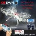 FPV HD Camera X5SW-1 atualizado RC Zangão 2.4G 6 Axis RC Tempo Real Brinquedos vs Quadcopter Dron Helicóptero mjx x101