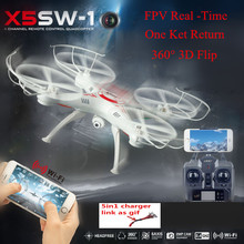 Upgraded FPV HD Camera X5SW-1 RC Drone 2.4G 6Axis Real Time RC Helicopter Quadcopter Toys vs Dron mjx x101