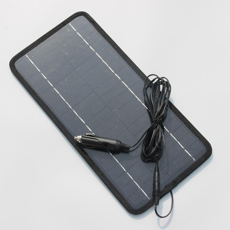 Carregador de Painel Carregador da Célula Solar para Carro Atacado 470ma Multifuncional Solar Portable – Barco Motor Power Bank 10 Pçs Lote 8.5 w 18 v