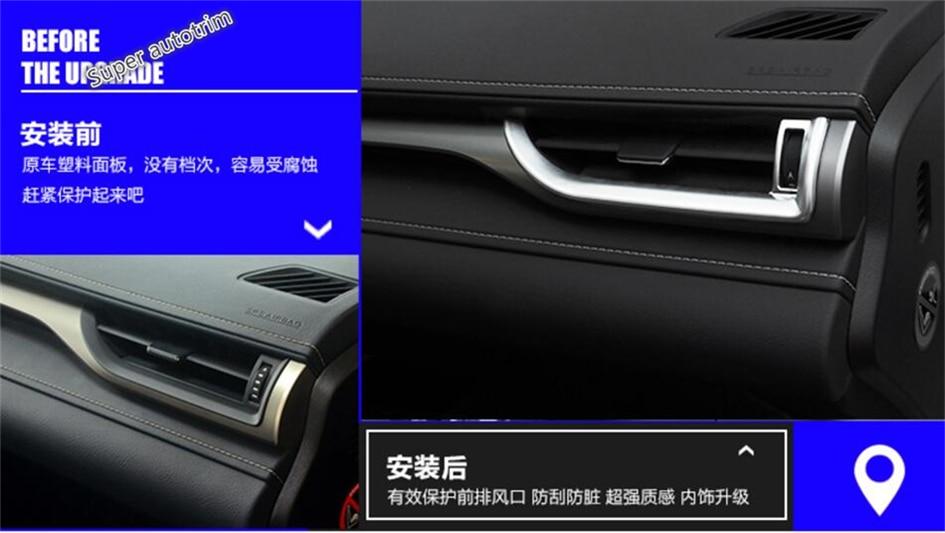 Lapetus Dashboard Acondicionador de aire AC Vent Outlet Cover Trim 7 - Accesorios de interior de coche - foto 5