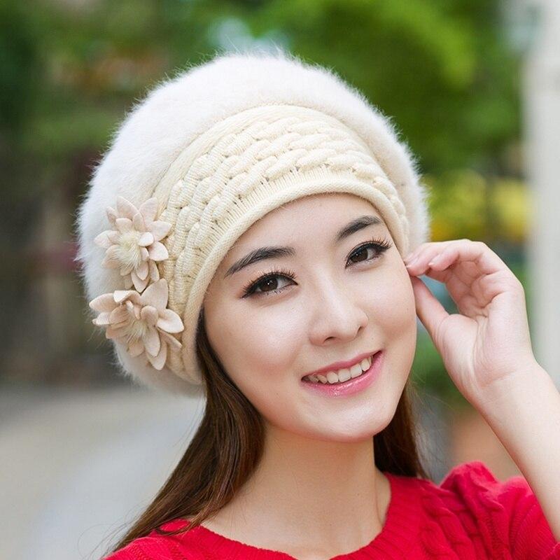 RIMIUT Women New Design Caps Twist Pattern Women Winter Hat Knitted Sweater Fashion beanie Hats For Female