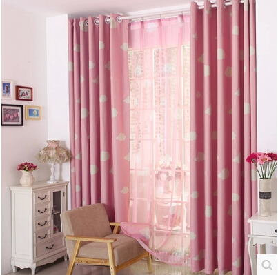 2016 new pastoral blackout kids room curtains for baby for Blackout curtains for kids rooms