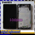 Инструментарий С рамкой рамка ДЛЯ ZTE Nubia Z9 Mini NX511J ЖК-Дисплей + сенсорный Экран digitizer Assemblely flex кабель